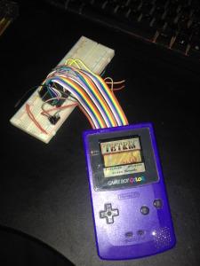 Running Tetris from AM29F040 EEprom